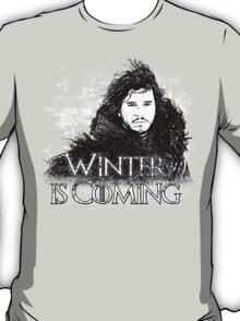 Jon Snow ( Winter is Coming ) T-Shirt