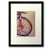The Wheel in Color Framed Print