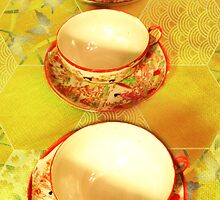 Tea Time 4 by MSRowe Art and Design