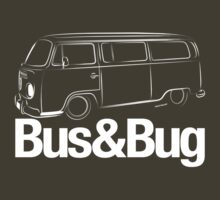 VW Camper 2 Bus and Bug by velocitygallery