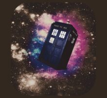 TARDIS in Space: Version 2 by SociallyAwkward