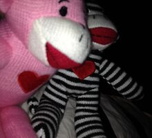 Sock Monkeys by tonimeyer23
