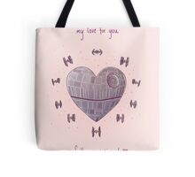 The Love Star Tote Bag