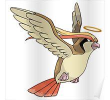 Bird Jesus Poster