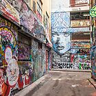 Rutledge Lane Faces by Esther Frieda