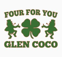 Glen Coco Lucky Clover St Patricks Day T-Shirt by xdurango