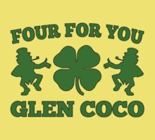 You Go Glen Coco Lucky Clover St Patricks Day T-Shirt by xdurango
