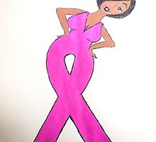 Breast Cancer Awareness Card by Stacy LeGras
