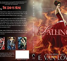 Falling Book Cover Jacket Design by Adara Rosalie
