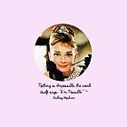 Audrey Hepburn - Nothing's Impossible by maxbrown