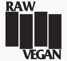 RAW VEGAN FLAG by rule30
