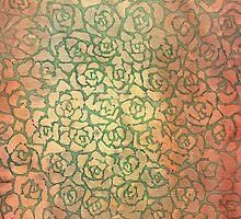 roses pattern by rysunki-malunki