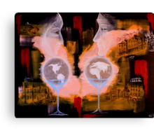 World for Two Canvas Print