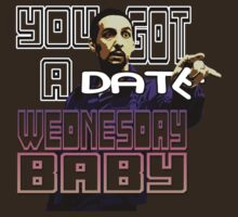 You got a date Wednesday Baby! (The Jesus- Big Lebowski) by SoftSocks