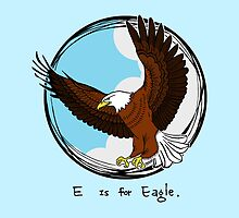 E is for Eagle. by tessfan99