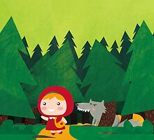 Little Red Riding Hood by parisiansamurai