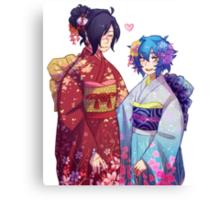 DRAMAtical Lesbians (KouAo) Canvas Print