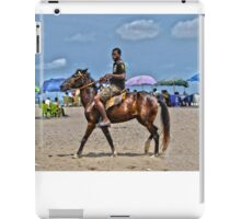 Horseboy on Beach iPad Case/Skin