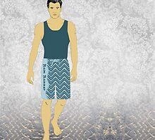 Boardshort 10 by Janet Carlson