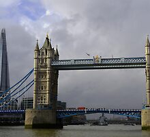 Tower Bridge & The Shard by Emily Shadbolt