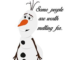 Some People are Worth Melting For by HeyItsShay