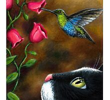 Cat 571 Hummingbird by artbylucie