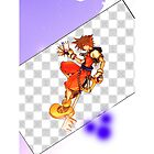 Kingdom Hearts Sora S4 Case Design by Sorage55