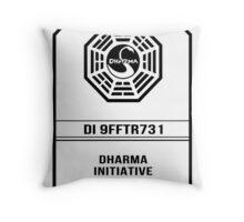 Dharma Card - LOST Throw Pillow