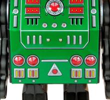 Smoking Kaiju Robot Sticker