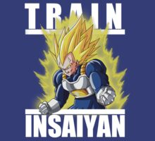 Train insaiyan - Vegeta Cell powerup by Ali Gokalp