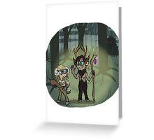 Fawnlock and Ramjohn Greeting Card
