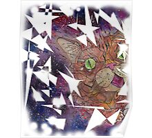 lilbub space kitty Poster