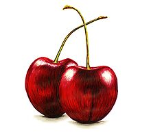 Cherries by Lars Furtwaengler