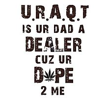 URAQT - M.I.A. Photographic Print