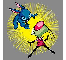 Invader Stitch! Photographic Print