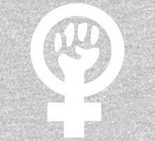 Feminist (white) by Kat Kaasila