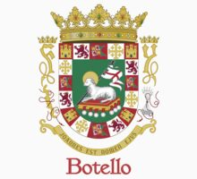 Botello Shield of Puerto Rico by William Martin