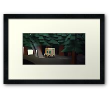 (another) get out of the dark Framed Print