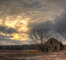 Lonely House-Landscape by Kielbasa