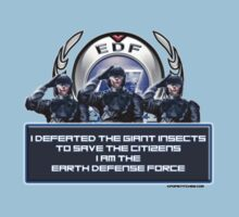 I am the Earth Defense Force by dubukat