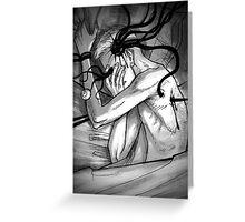 nightmares Greeting Card