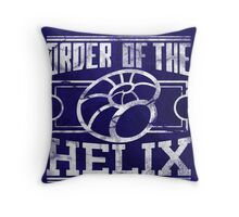 Order of the Helix Throw Pillow