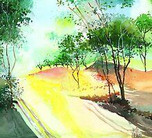 Stillness Speaks R by Anil Nene