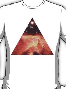 Emission Nebula Triangle | Fresh Universe T-Shirt