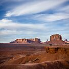 John Fords Point, Monument Valley by Philip Kearney
