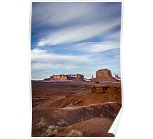 John Fords Point, Monument Valley Poster