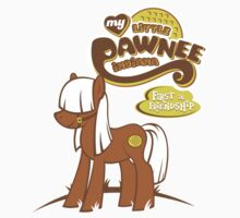 My Little Pawnee (Sticker) by thom2maro
