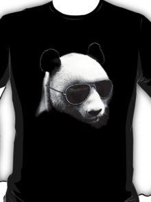 Aviator Panda Bear T-Shirt