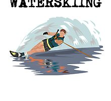 I'd Rather Be Waterskiing by kwg2200