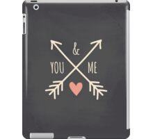 Chalkboard Arrows & Heart iPad Case/Skin